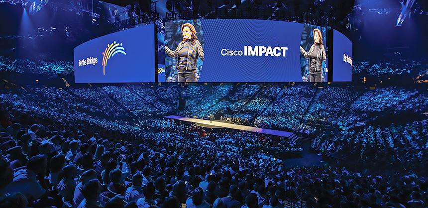Cisco IMPACT FY21, through its many green initiatives, such as tree planting and more, was classified as carbon net positive. Courtesy of Bridgette Villano