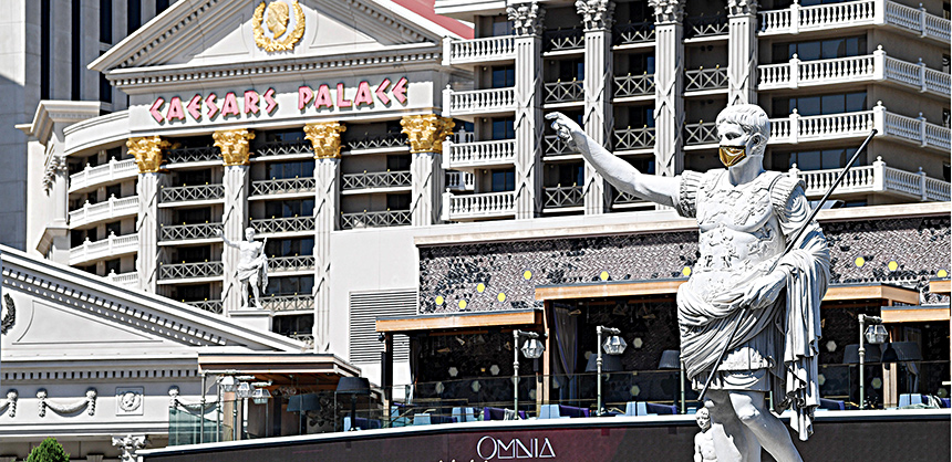 Caesars Entertainment Inc. kept its sales team in place to be available for customers during the pandemic. The plan paid off as customers had questions about everything from CDC guidelines to rescheduling, to cancellations.