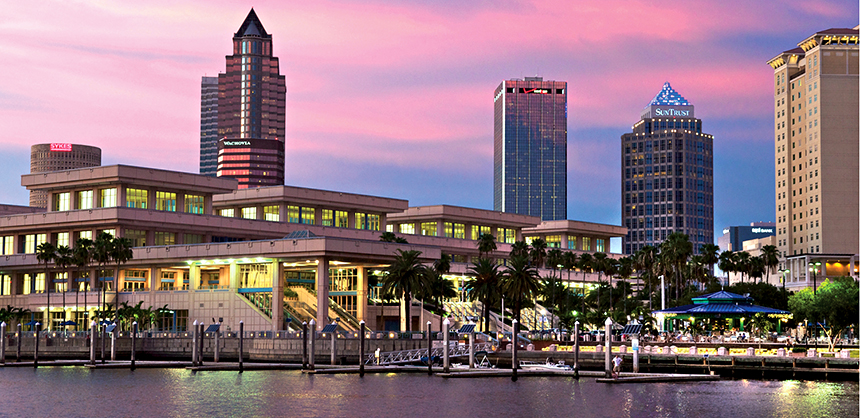 Negotiation experts think planners should be able to get good deals in second-tier cities such as Tampa, pictured, as meetings are trending in smaller destinations in the early stages of coming out of the pandemic.