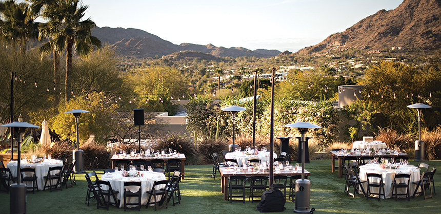 Sanctuary Camelback Mountain Resort and Spa boasts a unique blend of style, functionality and flexible meeting configurations.