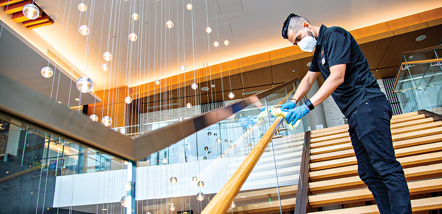 Hilton has put in place its  CleanStay Program, which boosts cleanliness protocols.