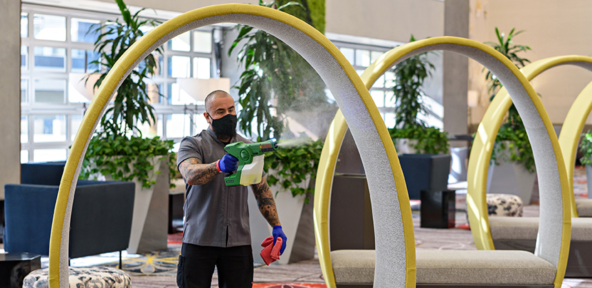 Caesars Entertainment Inc. has implemented a host of cleanliness measures to ensure attendee health and safety.