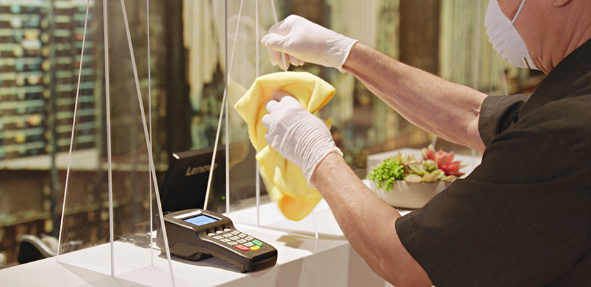 Marriott has introduced digital content about redefined spaces guided by cleanliness experts.