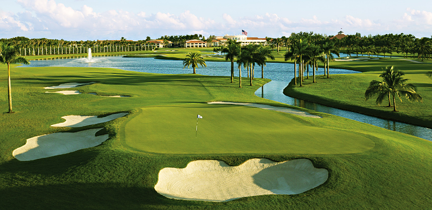 Trump National Doral Miami boasts four championship golf courses and 175,000 sf of indoor and outdoor space.