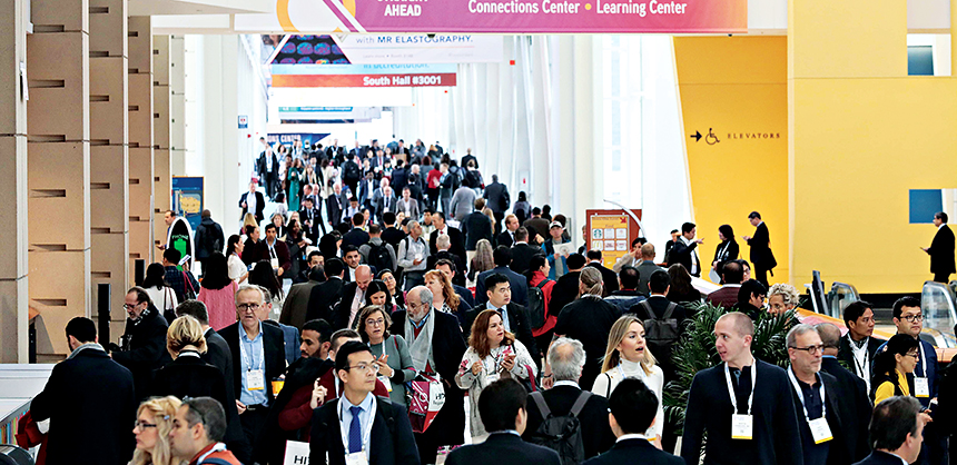 The annual RSNA Meeting and Scientific Assembly attracts nearly 25,000 attendees worldwide.