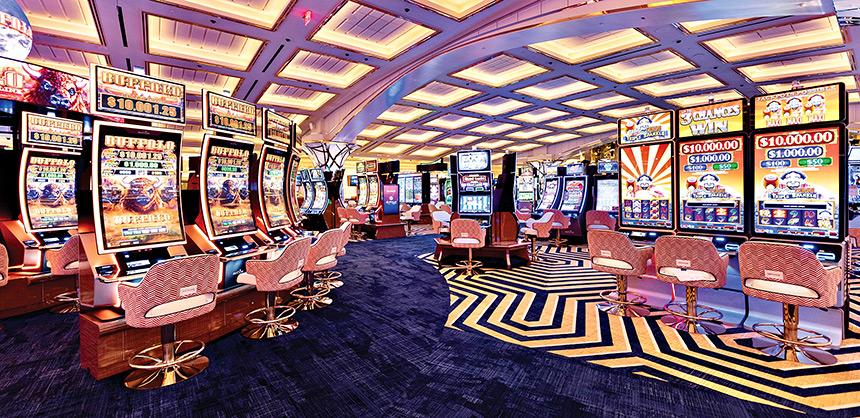 The casino at Resorts World Las Vegas. Photo by Megan Blair.